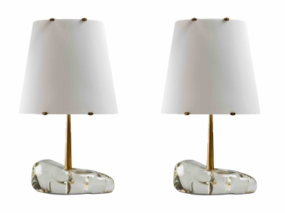 "ROBERTO RIDA, Paire de lampes ""Babbucce"", Italie, 2015"