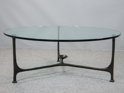 André Arbus - Coffee table in bronze