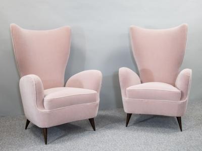 Emilio Sala & Giorgio Madini - Paire de fauteuils - circa 1950