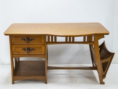 Gustave Serrurier-Bovy - Desk & Chair