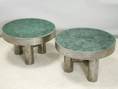 KAM TIN - tables basses malachite - 2020
