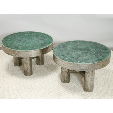 KAM TIN - tables basses malachite - 2020