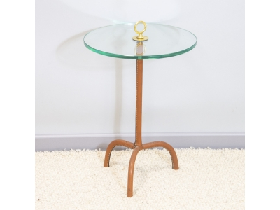 Jacques Adnet - Side table - circa 1950