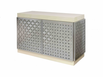 FRANÇOISE SEE, Braided metal chest, 1970