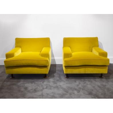 """Marco Zanuso - Paire de fauteuils """"Square"""" - circa 1950"""