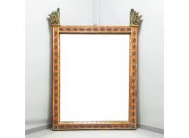 French work - Troubadour mirror - circa 1850