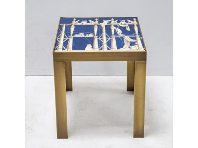 Gio Ponti - Pair of ceramic side tables - circa 1960