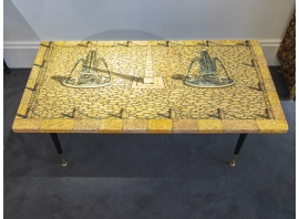 Piero Fornasetti - Coffee Table - circa 1950