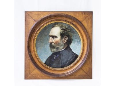 Achille Parina, Faenza - Portrait de Giuseppe Verdi - 1875