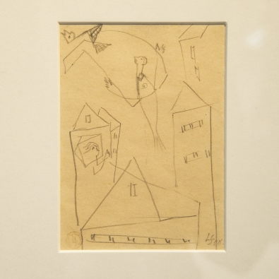 Léopold Survage - Drawing - circa 1950