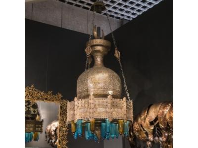 Oriental chandelier - circa 1880