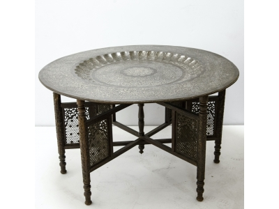 Oriental tea table - circa 1880