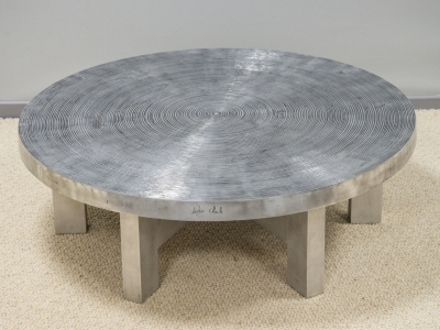 "Ado Chale - Table ""Goutte d'eau - circa 1980"