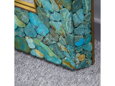 KAM TIN - Miroir en Turquoise - 2015