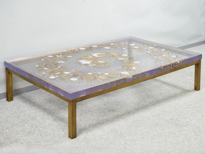Pierre Giraudon - Coffee table - circa 1970