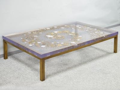 Pierre Giraudon - Table basse - circa 1970