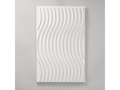 Marc Cavell - Sinusoïde blanc - 1972
