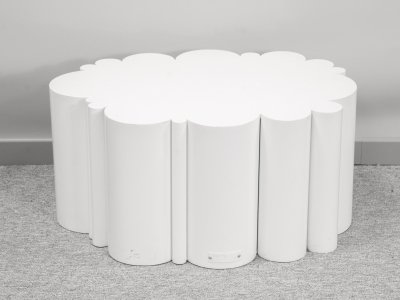 KAM TIN - Table Nuage blanche - 2015