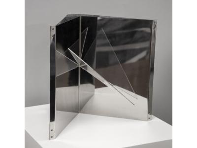 """Gabriele de Vecchi - """"Strutturazione triangolare"""" - circa 1960"""