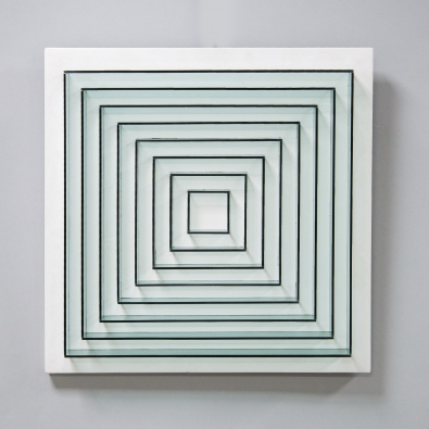 Marc Cavell - Kinetic painting - 1969