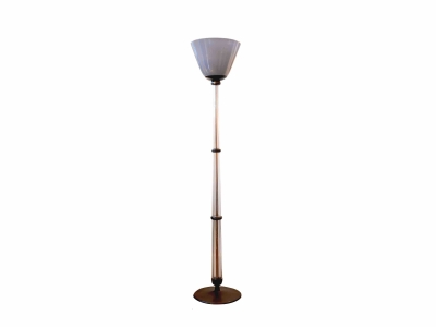"Floor lamp in ""Alga""Glass, Tomaso Buzzi, 1933"
