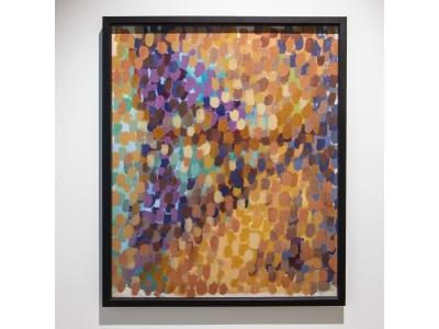 Marc Cavell - Peinture abstraite -1967