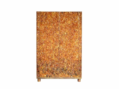 Kam Tin, Natural Amber Cabinet, 2016