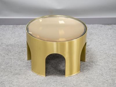 Foddis & Baisi - Small amber Colosseum table - 2021