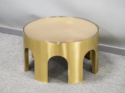 Foddis & Baisi - Medium amber Colosseum table - 2021