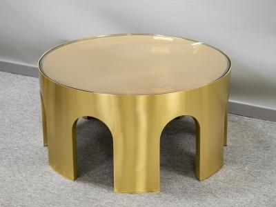 Foddis & Baisi - Big amber Colosseum table - 2021
