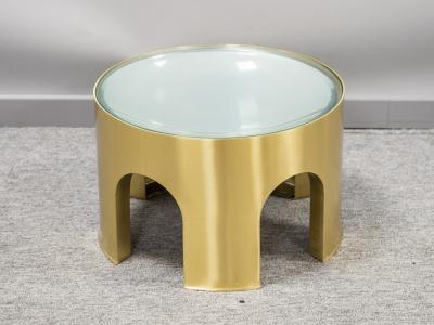 Foddis & Baisi - Small silver Colosseum table - 2021