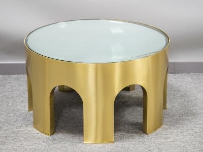Foddis & Baisi - Medium silver Colosseum table - 2021