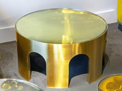 Foddis & Baisi - Big golden Colosseum table - 2021