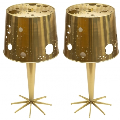 "ROBERTO RIDA, Pair of ""Lattea"" lamps"