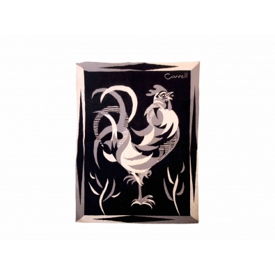 Marc Cavell, Tapisserie polychrome, Fin des années 1950
