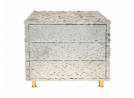 Kam Tin, Pair of pyrite nightstands