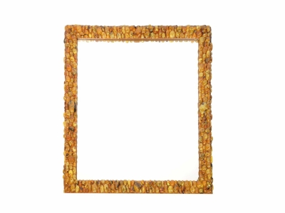 KAM TIN Mirror covered with Amber, 2016