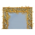 Robert Goossens, Blue mirror, gilded bronze, 1969
