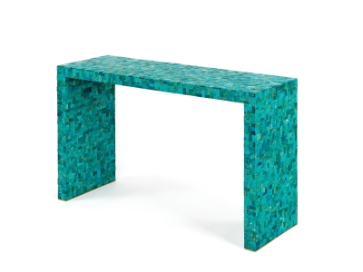 KAM TIN, Console en Turquoise