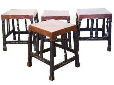 """""""Chokwe"""" stools, Africa, 30s"""