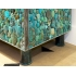 KAM TIN, Enfilade Cabinet in Turquoise
