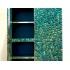 Kam Tin, Cabinet en turquoise ouvrant par quatre portes en façade, 2016