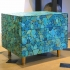 KAM TIN, Turquoise bedside