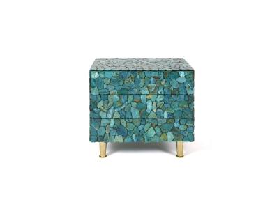 KAM TIN, Turquoise bedside